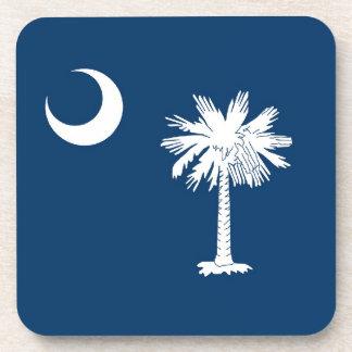 Bandera del estado de Carolina del Sur Posavasos De Bebidas