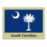 Bandera del estado de Carolina del Sur Postal