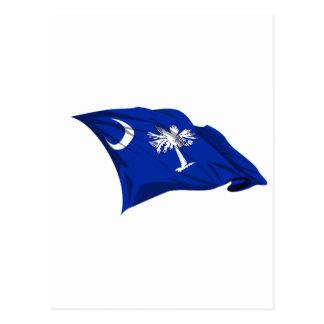 Bandera del estado de Carolina del Sur Postales