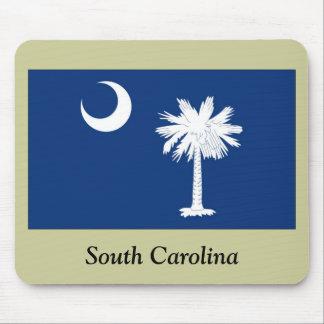 Bandera del estado de Carolina del Sur Tapetes De Raton