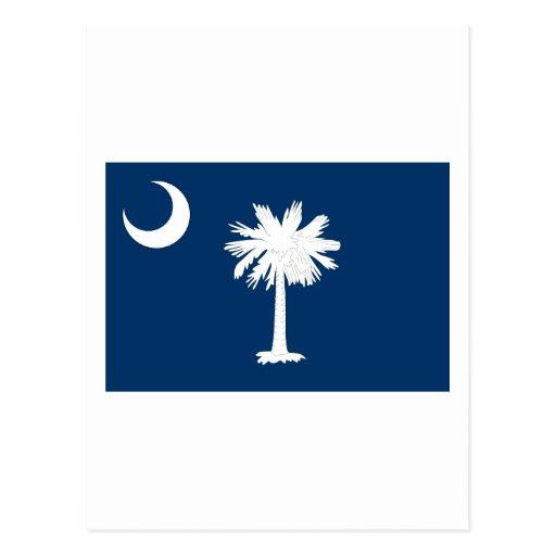 Bandera del estado de Carolina del Sur Tarjetas Postales