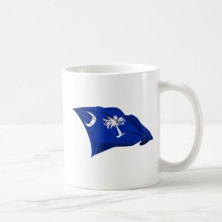 Bandera del estado de Carolina del Sur Taza