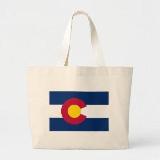Bandera del estado de Colorado Bolsa Tela Grande