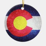 Bandera del estado de Colorado Ornamentos De Reyes Magos