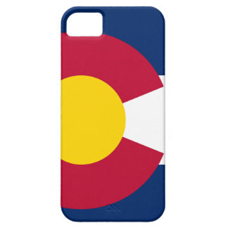 Bandera del estado de Colorado iPhone 5 Cobertura