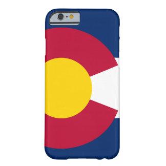 Bandera del estado de Colorado Funda De iPhone 6 Barely There
