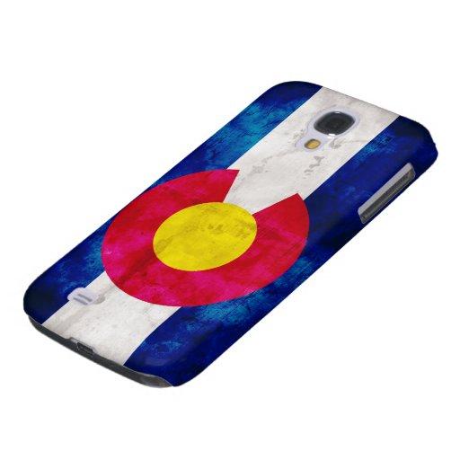 Bandera del estado de Colorado Funda Para Galaxy S4