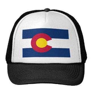 Bandera del estado de Colorado Gorras