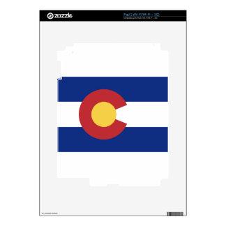 Bandera del estado de Colorado iPad 2 Calcomanía