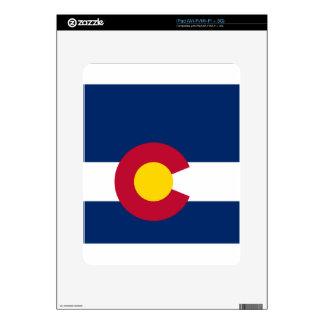 Bandera del estado de Colorado iPad Skins
