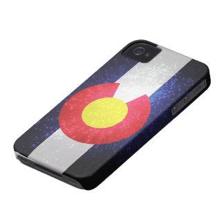 Bandera del estado de Colorado iPhone 4 Cárcasa