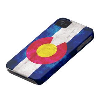 Bandera del estado de Colorado iPhone 4 Case-Mate Protector