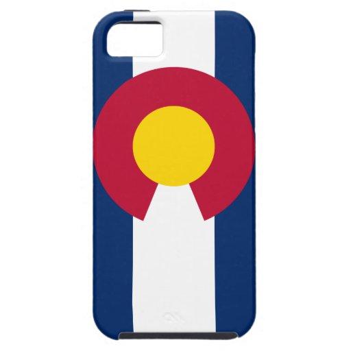 Bandera del estado de Colorado iPhone 5 Carcasas