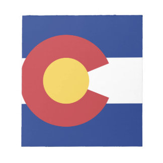 Bandera del estado de Colorado Libreta Para Notas