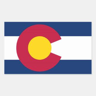 Bandera del estado de Colorado Pegatinas