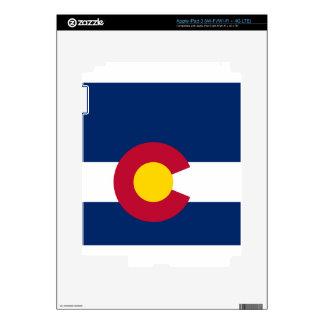Bandera del estado de Colorado Pegatinas Skins Para iPad 3