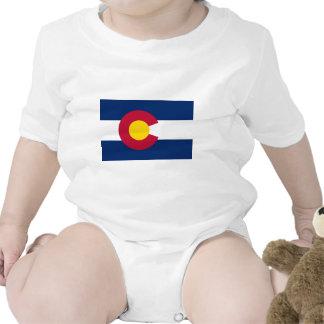Bandera del estado de Colorado Traje De Bebé