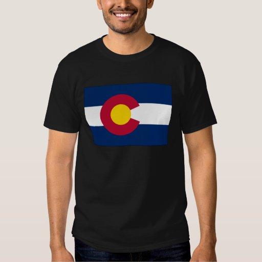 Bandera del estado de Colorado Poleras