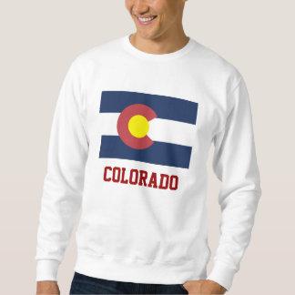 Bandera del estado de Colorado Suéter