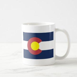 Bandera del estado de Colorado Taza