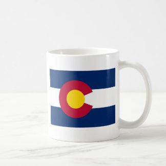 Bandera del estado de Colorado Taza Clásica
