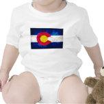 Bandera del estado de Colorado Trajes De Bebé