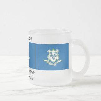 Bandera del estado de Connecticut Tazas