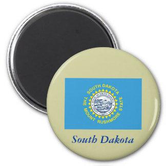 Bandera del estado de Dakota del Sur Iman Para Frigorífico
