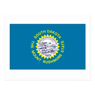 Bandera del estado de Dakota del Sur Postal