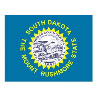 Bandera del estado de Dakota del Sur Postales