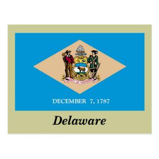 Bandera del estado de Delaware Postal