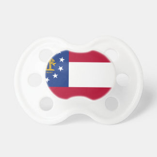 Bandera del estado de Georgia Chupetes De Bebé