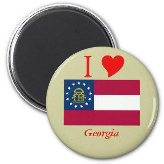 Bandera del estado de Georgia Imanes