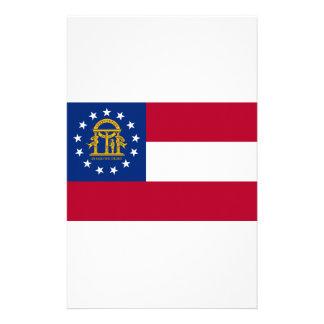 Bandera del estado de Georgia Papeleria De Diseño