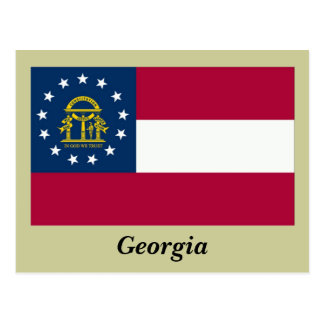 Bandera del estado de Georgia Postal