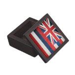 Bandera del estado de Hawaii Cajas De Joyas De Calidad