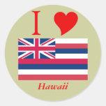 Bandera del estado de Hawaii Etiquetas