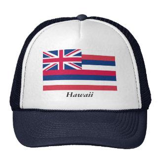 Bandera del estado de Hawaii Gorros Bordados