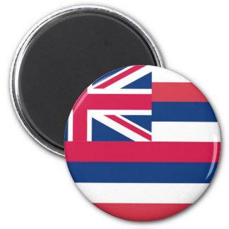 Bandera del estado de Hawaii Imán Para Frigorifico