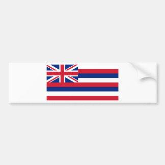 Bandera del estado de Hawaii Pegatina Para Auto