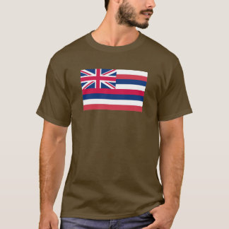 Bandera del estado de Hawaii Playera