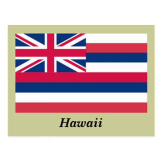 Bandera del estado de Hawaii Postal