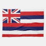 Bandera del estado de Hawaii Toallas