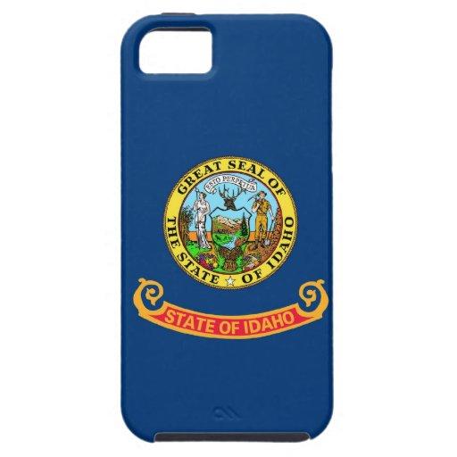 Bandera del estado de Idaho iPhone 5 Case-Mate Cárcasa