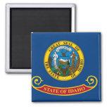 Bandera del estado de Idaho Imán Cuadrado