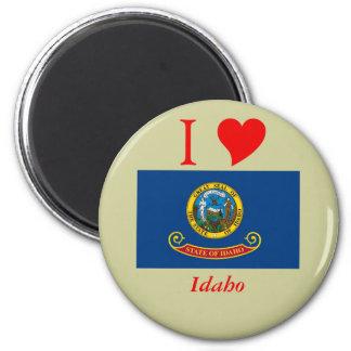 Bandera del estado de Idaho Imán Redondo 5 Cm