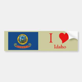Bandera del estado de Idaho Pegatina Para Auto