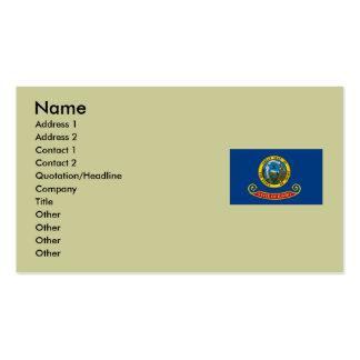 Bandera del estado de Idaho Tarjetas De Visita