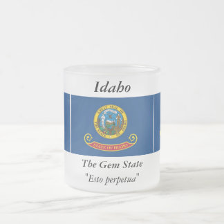 Bandera del estado de Idaho Tazas De Café