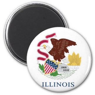 Bandera del estado de Illinois Iman